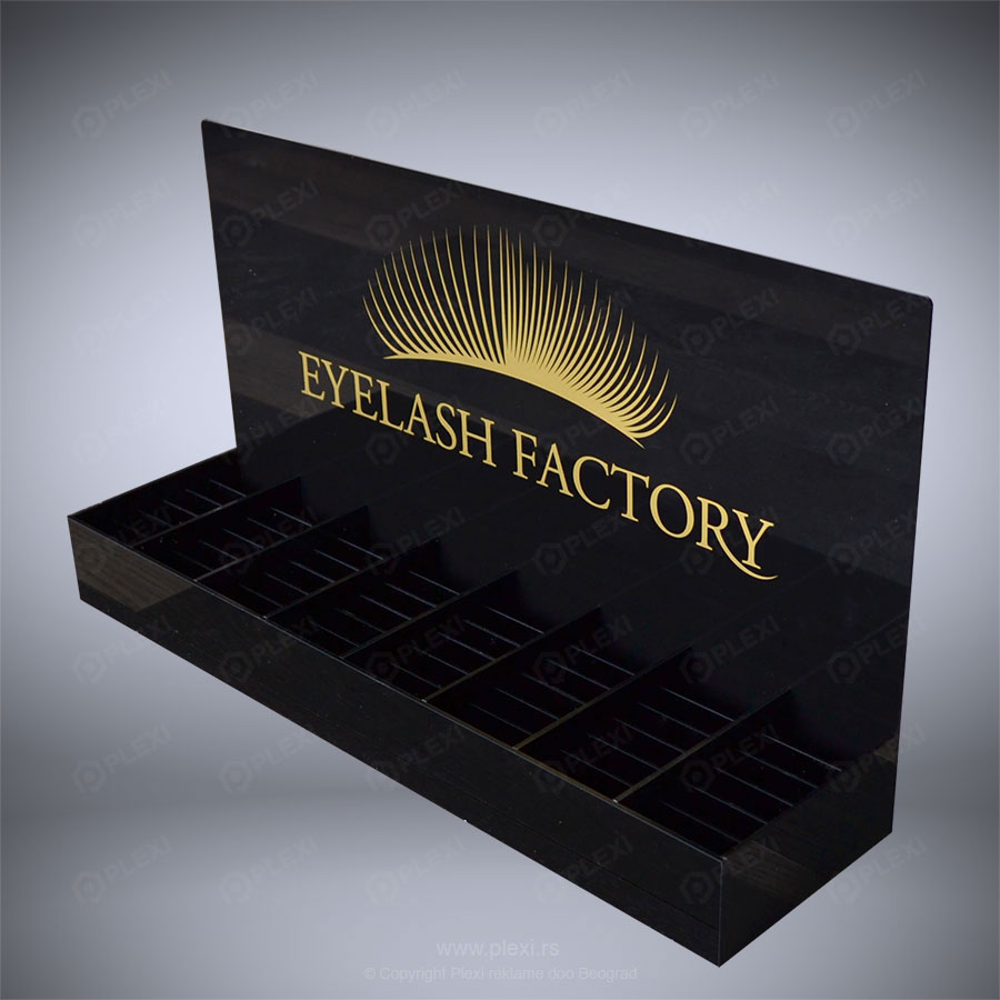 Polica Eyelash factory - PLEXI - PS008